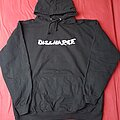 Discharge - Hooded Top - Discharge Never again