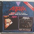 Anthrax - Tape / Vinyl / CD / Recording etc - Anthrax Fistful of metal / Armed and dangerous