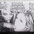Intestinal Disgorge - Tape / Vinyl / CD / Recording etc - Intestinal Disgorge / Bukkake Violence Kommando / Ecoute La Merde  Split