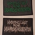 Undying Lust For Cadaverous Molestation - Patch - Undying Lust For Cadaverous Molestation Logo
