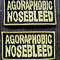 Agoraphobic Nosebleed - Patch - Agoraphobic Nosebleed Logo