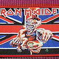 Iron Maiden - Patch - Iron Maiden - Somewhere Back In Time - Patch