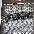 Iron Maiden - Book Of Souls Pin/Badge