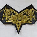 Tiamat - Logo - Backpatch
