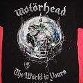 Motörhead - TShirt or Longsleeve - Motörhead - The Wörld is Yours - Tshirt