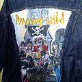 Handpainted denim vest Port Royal Running Wild  Battle Jacket