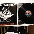Onslaught - Power from hell LP UK repress 1987