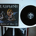 Blasphemy - Gods of war LP (+ Blood upon the altar demo) Reissue 2016 Tape / Vinyl / CD / Recording etc