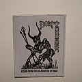 Bolt Thrower - Rising from the slaughter of war white patch unofficial