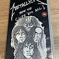 Metallica Cliff 'Em All VHS