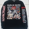 Napalm Death - TShirt or Longsleeve - Napalm Death - Campaign for musical destruction europe 1992 tour Long Sleeve