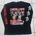 Cannibal Corpse - U.S. butchery tour '92 Longsleeve