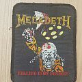 Megadeth-Patch - Killing is my business