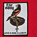 "The Body patch, ""Love is now, is always"""