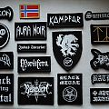 True Black Metal Embroidered Patch