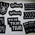 Black Metal Embroidered Patch