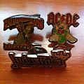 Led Zeppelin, AD/DC, Judas Priest Pins