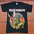 Limited iron maiden shirt cancelled japan tour