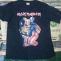 Vintage Iron maiden Uncle Sam tshirt