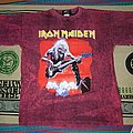 Vintage iron maiden tshirt fear of the dark live 90s