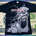 All over print Iron maiden tshirt - power slave