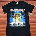 Iron maiden shirt legacy of the beast U K tour