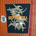 Vintage Back Patches SEPULTURA 90s