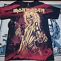 All over print iron maiden shirt