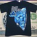 Iron maiden tour shirt - Different World