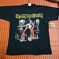 Iron maiden EDWARD THE GREAT tshirt 2002