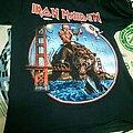 iron maiden tour tshirt