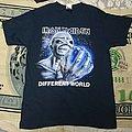 Iron maiden Different World shirt