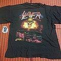 Slayer shirt Europe tour 1992