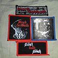 Patch - Vintage Black Sabbath Patches