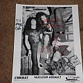 Nuclear Assault - Other Collectable - Sign Autograph Nuclear Assault Original Line-up