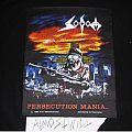 Patch - Original Sodom-Persecution Mania Back Patch