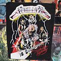 Vintage Metallica Ride The Lighting Back Patch