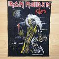 Iron Maiden Killers backpatch original vintage