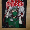 Metal Church Fake Healer vintage backpatch