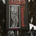 Carcass Heartwork Patch