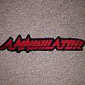 Annihilator - Patch - Annihilator backshape