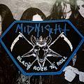 Midnight Black Rock n Roll patch