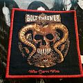 Bolt Thrower Who Dares Wins patch