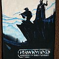 Hawkwind Masters Of The Universe backpatch unused