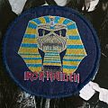 Iron Maiden Powerslave patch round