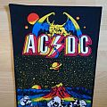 AC/DC - Patch - AC/DC Monsters Of Rock backpatch vintage
