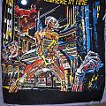 Iron Maiden Somewhere In Time vintage original backpatch