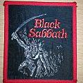 Black Sabbath Paranoid vintage patch