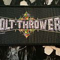 Bolt Thrower Logo strip original