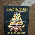 Iron Maiden The Clairvoyant backpatch original